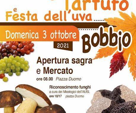 Sagra del Fungo, Tartufo e Festa dell'Uva a Bobbio il 3 ottobre