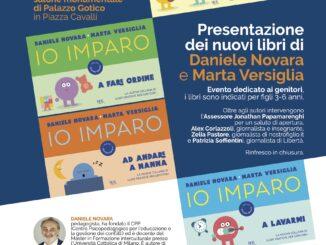 Io Imparo, presentazione della nuova collana di libri a cura di Daniele Novara e Marta Versiglia il 21 settembre a Palazzo Gotico