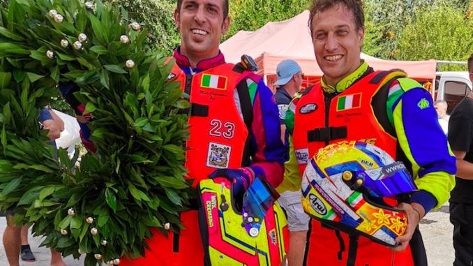 Trionfo dei fratelli Cremona nel Campionato Europeo di Motonautica F350
