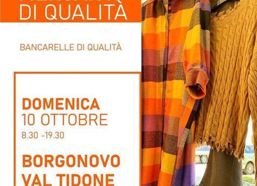 Domenica fashion il 10 ottobre a Borgonovo, con i Mercanti di Qualità spazio alla moda d'autunno 2021