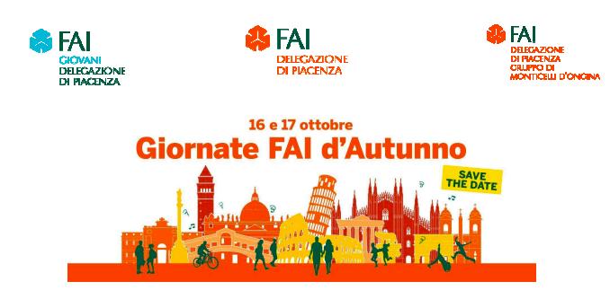 Giornate FAI d'Autunno 2021 a Piacenza e provincia il 16 e 17 ottobre